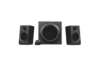 Logitech Z333 2.1 Multimedia Speaker System with Inline Power and Volume Control