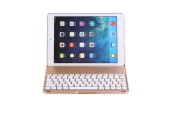 "Wireless Bluetooth V3.0 Keyboard Case For Ipad Air 2 Pro 9.7"" Apple Gold"
