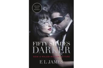 Fifty Shades Darker - Official Movie tie-in edition, includes bonus material