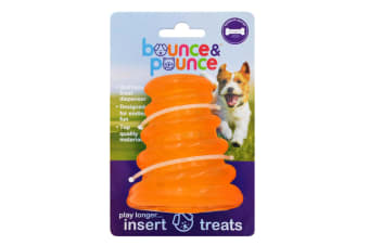 Mongoose Small Treat Dispenser Dog & Puppy Toy by Bounce & Pounce