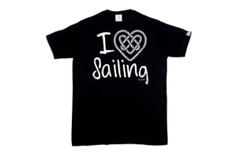 Ocean Bound Sailing Tee - I Love Mens T-Shirt