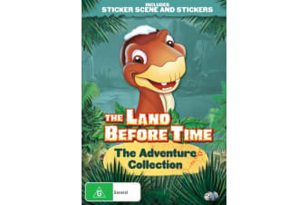 The Land Before Time The Adventure Collection DVD Region 4