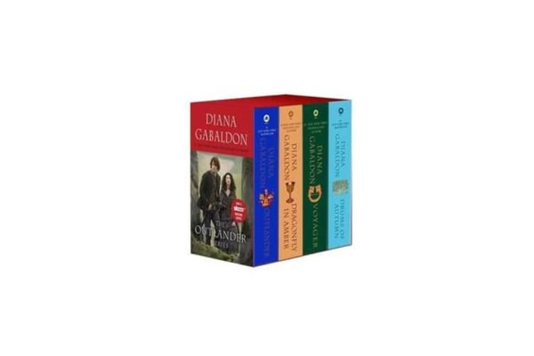 Outlander Boxed Set - Outlander, Dragonfly in Amber, Voyager, Drums of Autumn