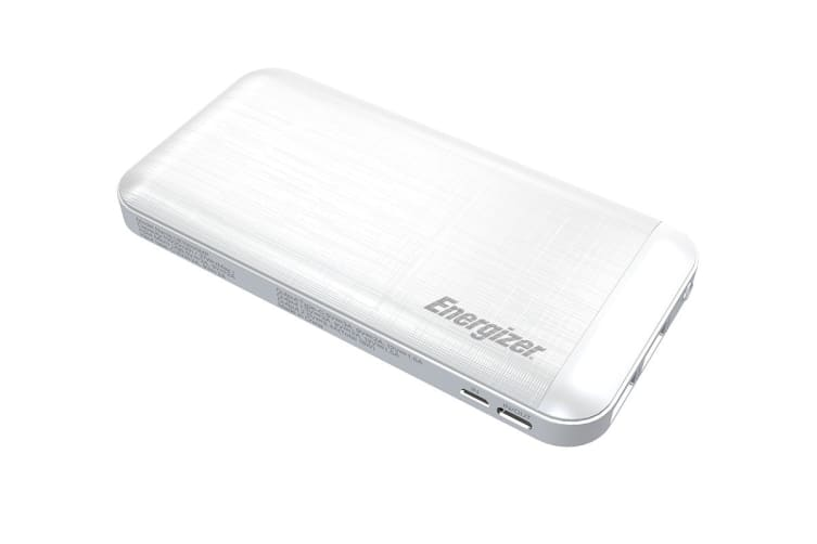 Energizer Fast Charge 10000mAh Power Bank - White (UE10030MP)