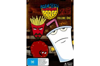 Aqua Teen Hunger Force : Vol 1 -Comedy Series Rare- Aus Stock Preowned DVD: DISC LIKE NEW