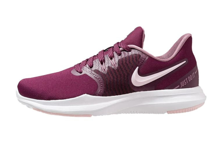 Nike In-Season Trainer 8 (Bordeaux/Pink Foam/Plum Dust, Size 8 US)