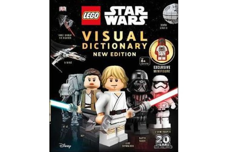 LEGO Star Wars Visual Dictionary New Edition - With exclusive Finn minifigure