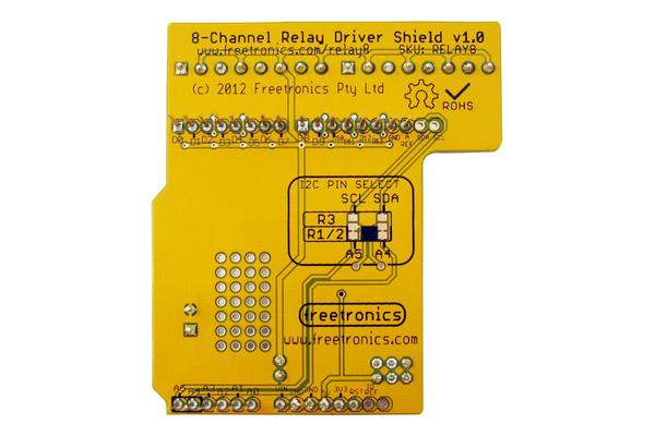 8-Channel Relay Driver Shield