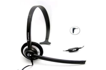 Plantronics M214C handsfree Headset for Xbox 360 &DECT phones that have a 2.5mm port Comfortable