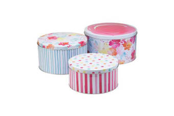 Ecology Summer Bloom Cake Tins Set of 3