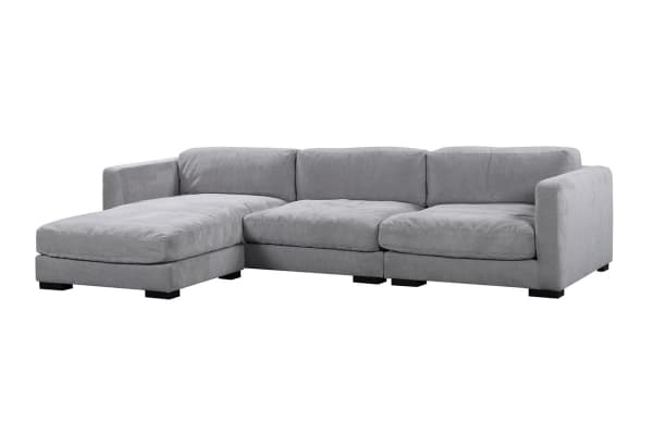 Renior 3 Seater Corner Sofa with Chase