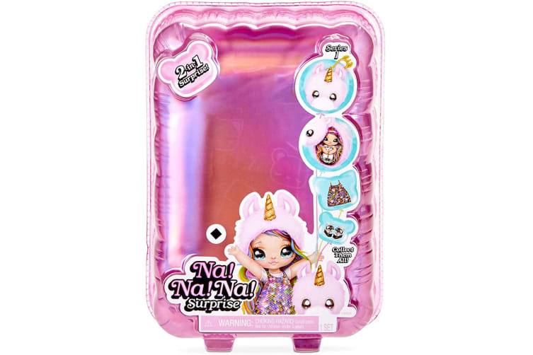 Na Na Na Surprise Series 1 Fashion Doll/Plush Pom Kids/Girls Toys 6y+ Assorted
