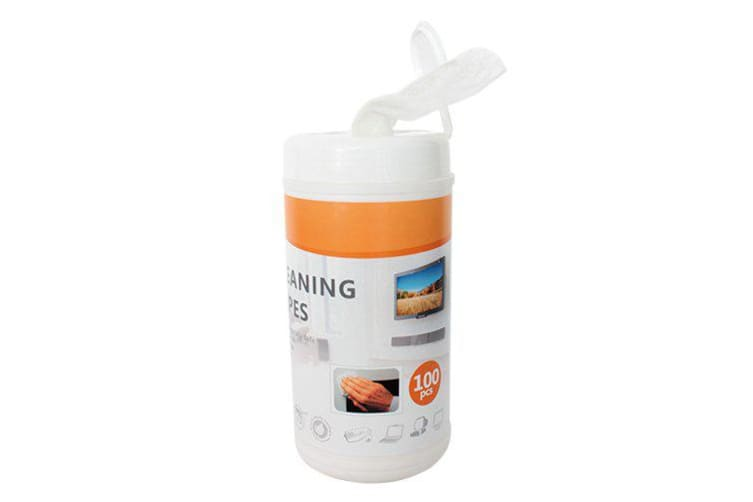 Brateck Non-Woven Cleaning Wipe 100pcs,For LCD/LED Displays Including