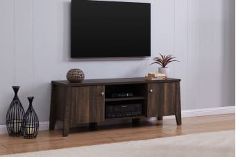 Shangri-La TV Entertainment Unit - Camden Collection (140cm, Dark Oak)