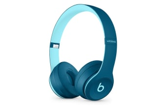 Beats Solo3 Wireless Headphones Pop Collection (Pop Blue)