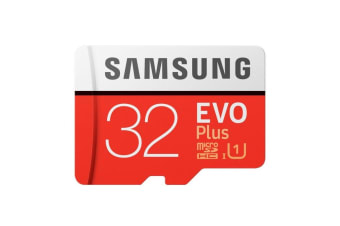 Samsung EVO Plus 32GB 95MB/s U1 MicroSDHC with Adapter