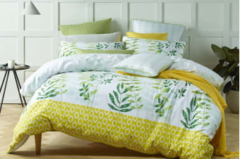 Bianca Tendril Quilt Cover Set