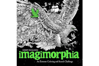 Imagimorphia - An Extreme Coloring and Search Challenge