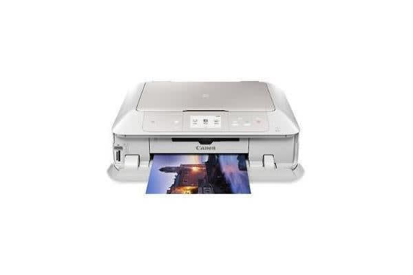 CANON MG7760W HOME ADVANCED-WHITE-PRINT/COPY/SCAN 6 INKS 9600DPI PRINT 4800DPI SCAN NFC-TOUCH