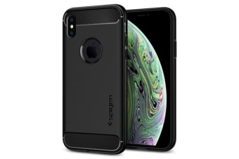 "Spigen iPhone XS (5.8"") Rugged Armor Case"