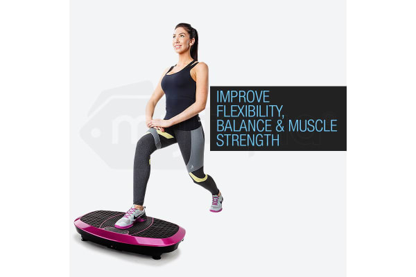 New PROFLEX Vibration Platform Machine Body Shaper Exercise Fitness Plate 3500W