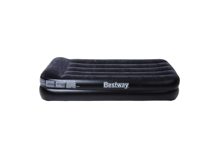 Bestway Inflatable Air Mattress Bed w/ Built-in Pillow - Single Size