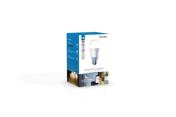 TP-Link LB120 Smart LED Light Bulb, Wi-Fi, Tunable White, Dimmable, A19, E27/B22 Base, 60W Equivalent, No Hub Required (LB120)
