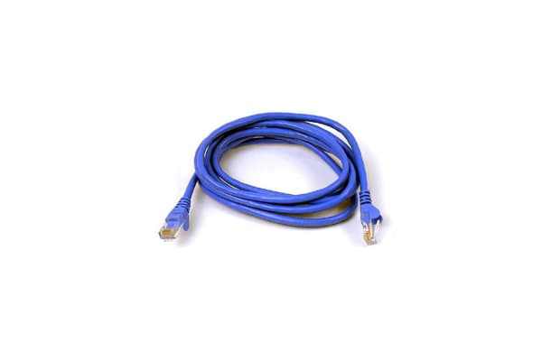 2PK Belkin 1M Snagless Molded Patch Cable Blue