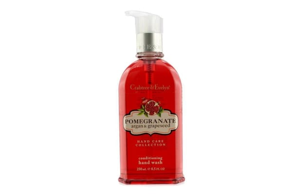 Crabtree & Evelyn Pomegranate, Argan & Grapeseed Conditioning Hand Wash (250ml/8.5oz)