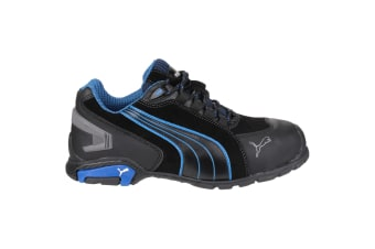 Puma Safety Rio Low Mens Safety Trainers (Black)