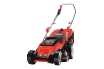 Black & Decker 1400W 34cm Electric Lawnmower with Compact & Go