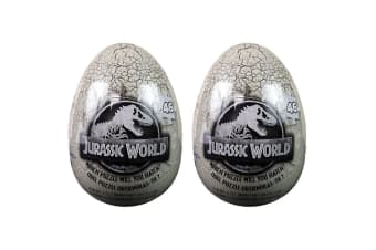 2x 46pc Jurassic World Egg Jigsaw Puzzle Educational/Learning Toy Kids/Child 4y+