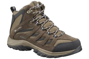 Columbia Womens Crestwood Mid Waterproof Boots - Pebble Oxy