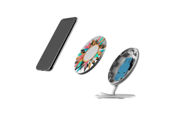 QI Wireless Charger For iPhone XR XS MAX Samsung Galaxy S10 S10+ S10e  Circle