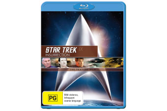 Star Trek 9 Insurrection Blu-ray Region B