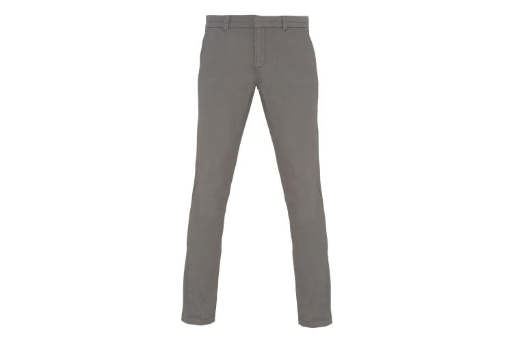 Asquith & Fox Womens/Ladies Casual Chino Trousers (Slate) (L)
