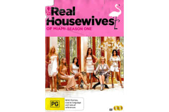 THE REAL HOUSEWIVES OF MIAMI: SEASON 1 SLIP HAS DAMAGE - Region 4 Preowned DVD: DISC LIKE NEW