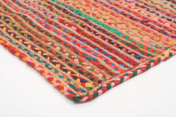Expo Jute and Cotton Rug Multi 270x180cm