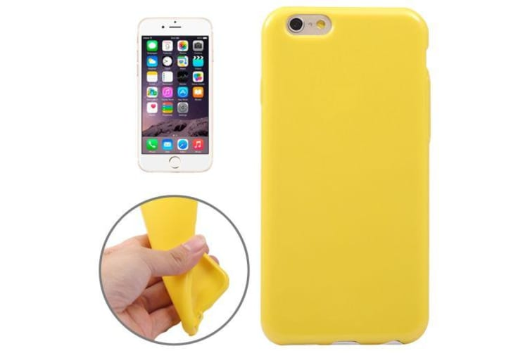 detailed look 6a519 6bf1f For iPhone 6S PLUS 6 PLUS Case Durable Shielding Cover Playful Yellow