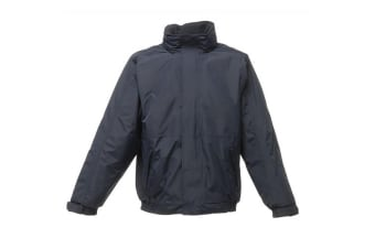 Regatta Dover Waterproof Windproof Jacket (Thermo-Guard Insulation) (Navy/Navy) (M)