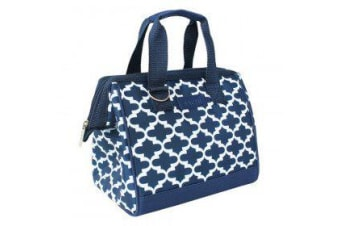 Sachi Insulated Lunch Bag Morrocan Navy