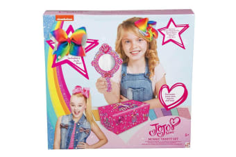 JoJo Siwa Beauty Set - Bow , Mirror and Keepsake Bow Box