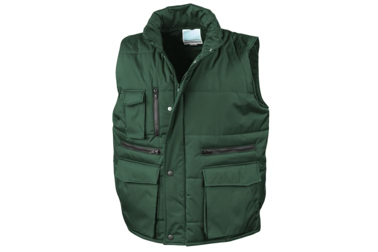Result Mens Lance Bodywarmer / Gilet (Windproof & Showerproof) (Bottle) (S)