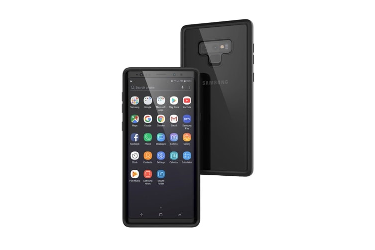 Catalyst Impact Protection Case For Galaxy Note 9 - Stealth Black