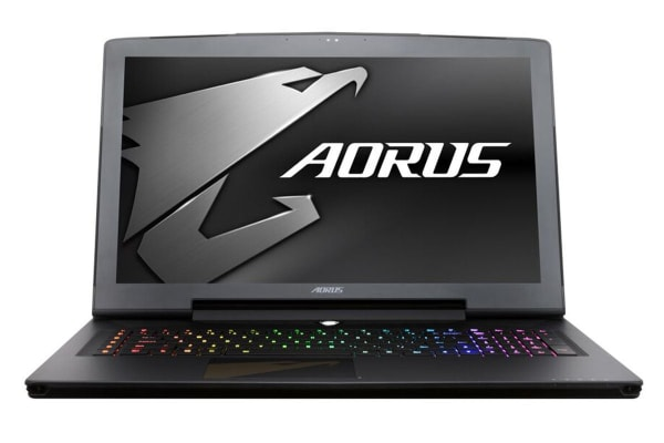 "Aorus 17.3"" X7 v8 Core i7-8850H GTX1080-8GB 16GB RAM 512GB SSD 1TB HDD FHD 144Hz G-Sync Gaming Notebook (X7-1080-801)"