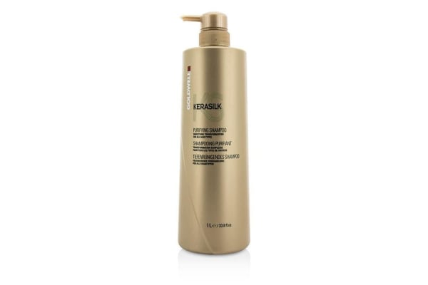 Goldwell Kerasilk Purifying Shampoo - Smoothing Transformation (For All Hair Types) (1000ml/33.8oz)