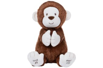 Gund Clappy The Monkey Animated Plush