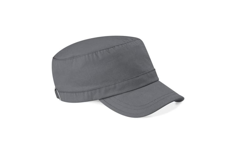 Beechfield Army Cap / Headwear (Pack of 2) (Graphite Grey) (One Size)