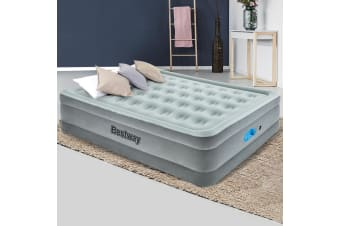 Bestway Air Beds Queen Air Bed Inflatable Mattress Built-in Pump
