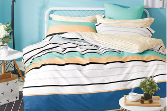 Gioia Casa Dorel Quilt Cover Set (Queen)